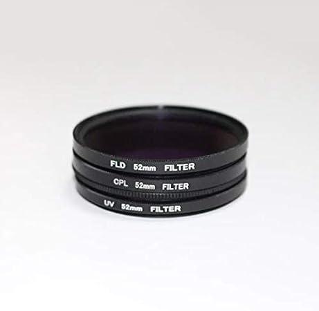 Filter Kit 49 52 55 58 62 67 72 77 82mm UV CPL FLD with Bag Lens Cap Anti-lost Rope Cloth Fasmodel