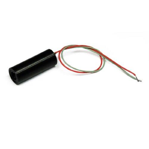 Punktlaser, rot, 650 nm, 1 mW, 5 V DC, Ø8x21 mm, Laser Klasse 2, Fokus fixiert (90mm), Kabellänge 100 mm, Molex PicoBlade - 70107487