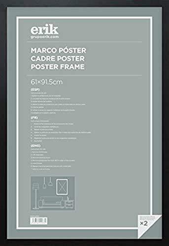Marco póster - Marco 61x91,5cm Marco madera Negro - Lámina deocrativa