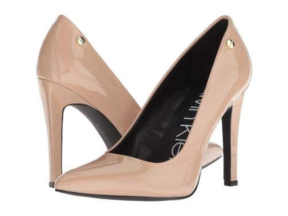きょうだいかすれた素晴らしい良い多くのCalvin Klein(カルバンクライン) レディース 女性用 シューズ 靴 ヒール Brady - Desert Sand Patent [並行輸入品]