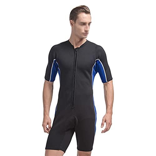 Traje de buceo de neopreno de 2 mm para hombre y mujer, trajes mojados para surf, natación, deportes acuáticos (color: hombres, tamaño: M)