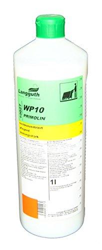 Primolin Bohnermilch 1,0 Liter geeignet für Vorwerk SP 520 und PL 515 Wachsemulsion Bohnerwachs Wischpflege Vollpflege und Beschichtung mit Frischeduft geeignet für alle wasserbeständigen Bodenbeläge