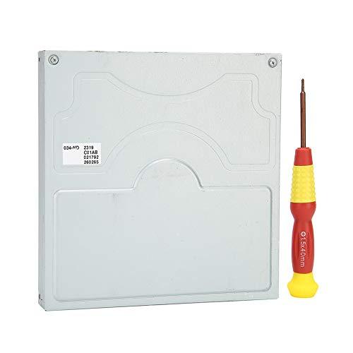 Disco de Unidad de DVD ROM, RD ‑ DKL034 ‑ ND/RD ‑ DKL101 ‑ ND Reemplazo de la Unidad de Disco óptico de DVD Reemplazo para la Pieza de reparación de la Consola WiiU con Destornillador