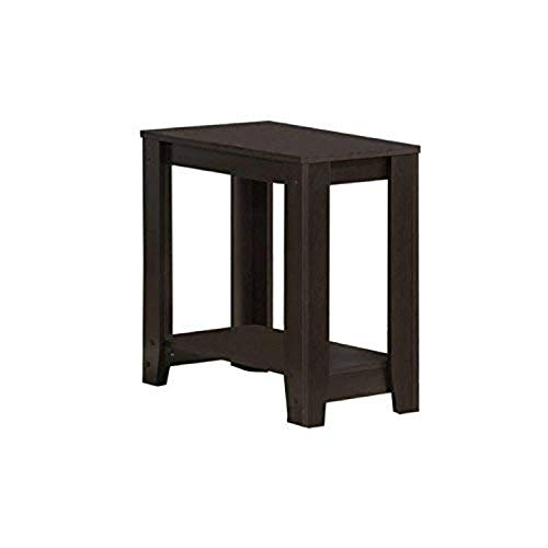 Monarch Specialties Cappuccino Accent Side Table
