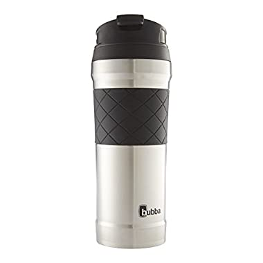 Bubba HERO Elite Vacuum-Insulated Stainless Steel Travel Mug with TasteGuard, 16 oz.,  Stainless steel