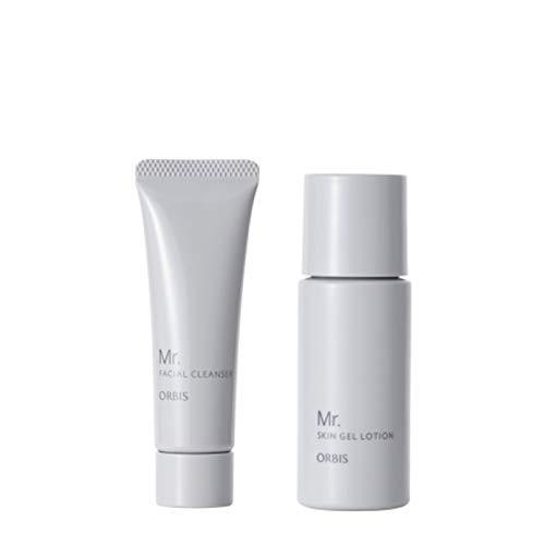 ORBIS Mr.(オルビス ミスター) トライアルセット(洗顔料・オールインワンジェル) メンズ用 スキンケアお試しセット (洗顔料20g・化粧水40mL)