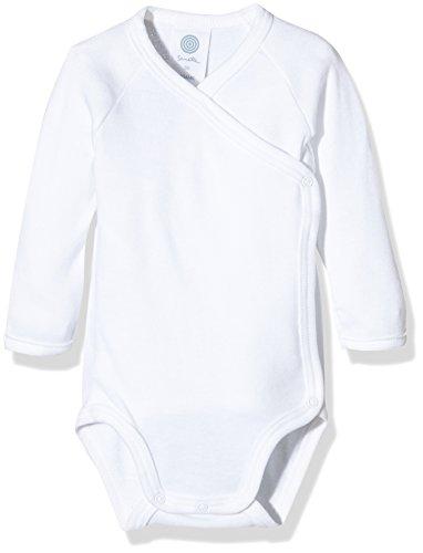 Sanetta Sanetta Unisex Baby 321997 Body, Weiß (White 10), Frühchen (Herstellergröße: 44)