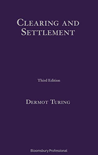 Clearing and Settlement (English Edition)