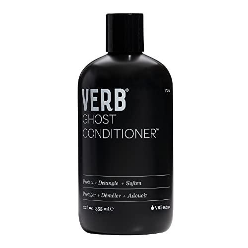 Verb Ghost Conditioner – Vegan Anti-Frizz Conditioner for Fine Hair – Weightless Moisturizing Conditioner – Sulfate Free, Paraben Free & Gluten Free Deep Conditioner with Moringa Oil, 12 fl oz