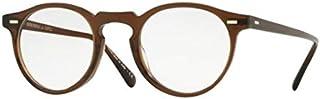 Oliver Peoples GREGORY PECK OV 5186 WASHED DARK BROWN 45/23/150 unisex eyewear frame