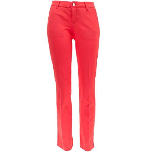 ALBERTO Damen Golfhose Alva 3xDry Cooler in Rot Größe 40