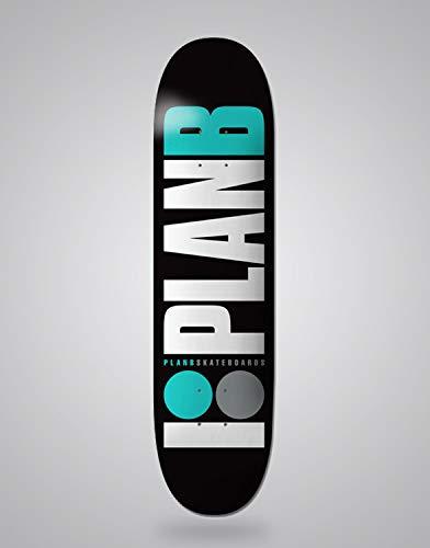 lordofbrands Monopatín Skate Skateboard Deck Plan B Team OG Teal 8.0