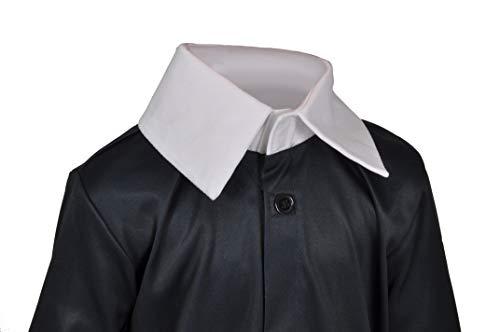 Ciao-Costume Mercoledì Addams Family, 5-7 anni Ragazza, Nero, 11143.5-7