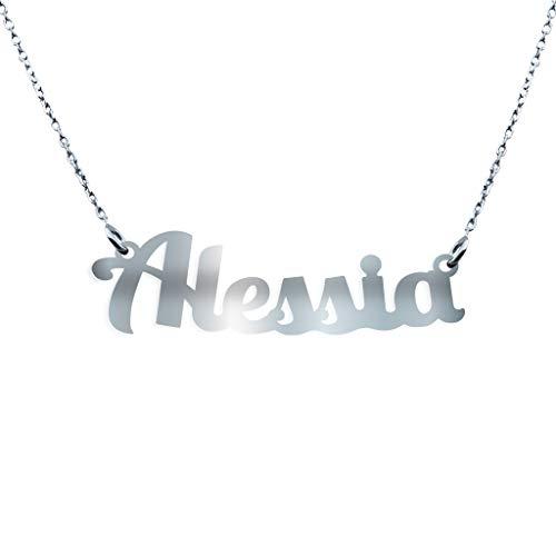 Collana con Nome in Argento (Alessia)