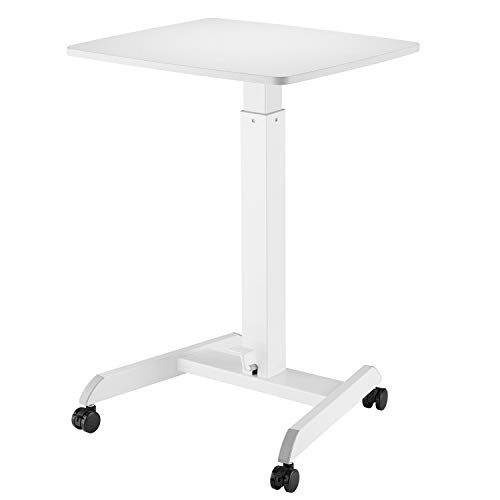 Allcam ACGSL07 Gas-spring-assisted Height Adjustable Laptop Table/Lectern/Reception Desk