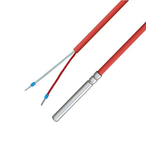 NTC 10KOHM - Sensor de temperatura con cable de silicona hasta 200 °C, NTC 10 K, 10 metros