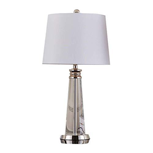 Lámparas de mesa Lámpara de mesa de cristal de estilo europeo Lámpara de noche para dormitorio Lámpara de mesa grande para hotel Lámpara de mesa para sala de estar de moda Lámpara de escritorio
