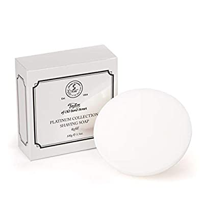 Taylor of Old Bond Street Platinum Collection Shaving Soap Refill 100gr from Taylor of Old Bond Street