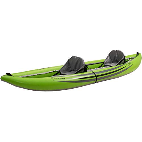 AIRE Tributary Strike 2 Tandem Inflatable Kayak-Lime