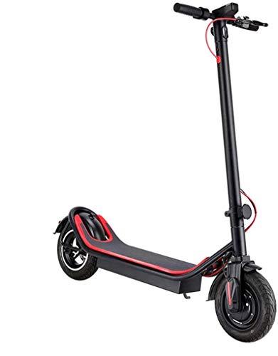 Bicicleta eléctrica de nieve, Bicicletas eléctricas rápidas for adultos a prueba de golpes neumáticos de 10 pulgadas de largo alcance 350W Ciudad campo a través scooter con pantalla LCD doble sistema