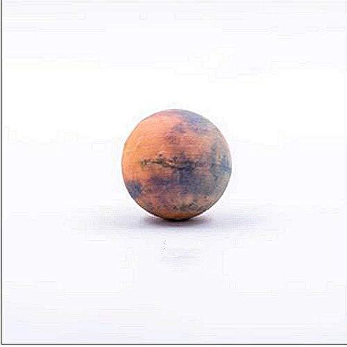 Tlyd Smart AR Sonnensystem Planet Modell, 3Cm Resin 3D Druck Interactive Hoch Ageity Astronomy Education Hilfe Für Kinder Raumdekoration Planetarium,Mars