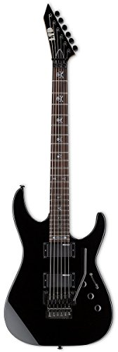 LTD 312567 KH-202 E-Gitarre schwarz