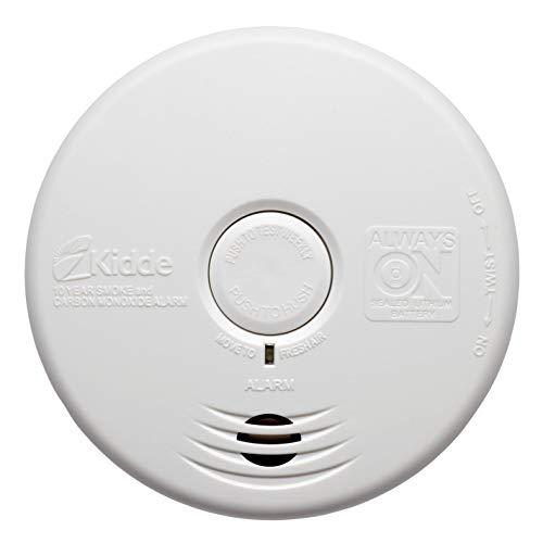 Kidde Home Protect WFPCO - Allarme combinato con fumo e monossido di carbonio, per cucina, colore: bianco, taglia unica