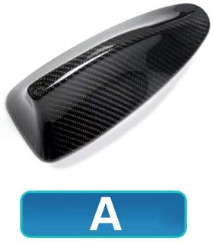 Carbon Fiber Car Roof Shark Fin Antenna Cover Trim for BMW E46 E90 E92 F20 F30 F10 F34 G30 M2 X3 X5 X6 Car Styling - (color Name  A)