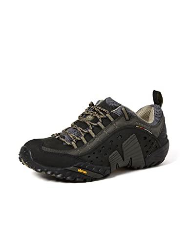 Merrell Intercept, Men's Low Rise Hiking, Black (Smooth Black), 8.5 UK (43 EU)