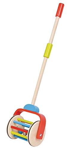 Lelin Toys - 38290 - Jouet De Premier Age - Bâton À Pousser - Arc En Ciel