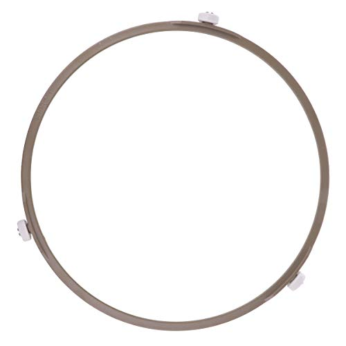 iEFiEL Ersatzteile für Mikrowellen 17,5cm/22cm Durchmesser Ersatz Drehteller mit 3 Rollen Mikrowellen Ring Zubehör Braun B L