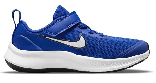 Nike Star Runner 3, Zapatos de Tenis Unisex niños, Juego Royal White Midnight Navy, 30 EU
