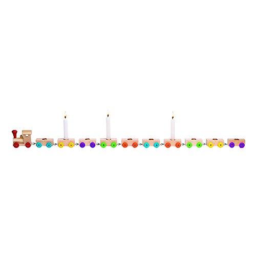 Goki - 2041860 - Décoration De Fête - Train d'anniversaire