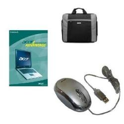 Acer 15 Inch Platinum Bundle: 3 Year Warranty, 15.4 Inch Smart Carry Case and Mouse