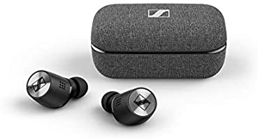 Sennheiser ゼンハイザー Bluetooth 完全ワイヤレスイヤフォン MOMENTUM True Wireless 2, M3IETW2 BLACK ノイズキャンセリング、LDSアンテナ、Bluetooth...