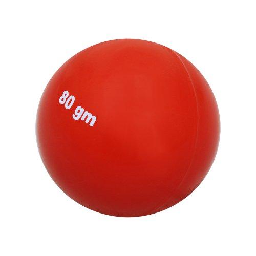HAEST Schlagball für Wettkampf und Training, Kunststoff 80 Gramm
