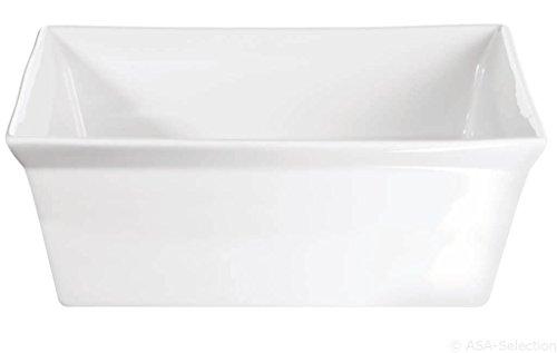 ASA Gratinform, Porzellan, weiß, 23x23x8 cm