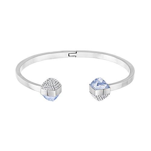 Swarovski Damen-Armreif Glance rhodiniert Kristall weiß - 5272073