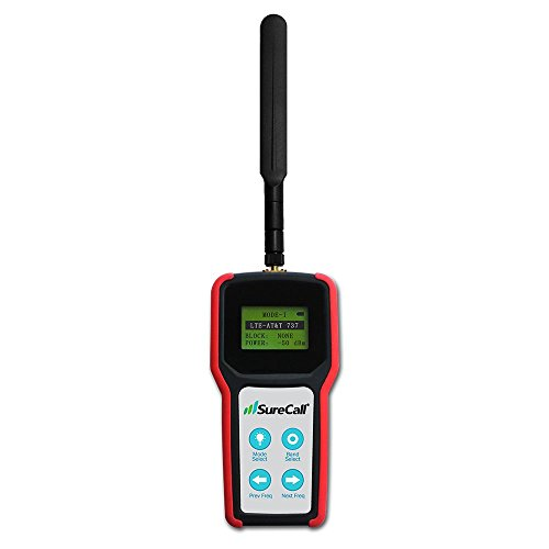 SureCall Five-Band RF Signal Meter for 4G LTE, Cellular, PCS and AWS Cell Phone Signal Booster Installation (SC-METER-01)