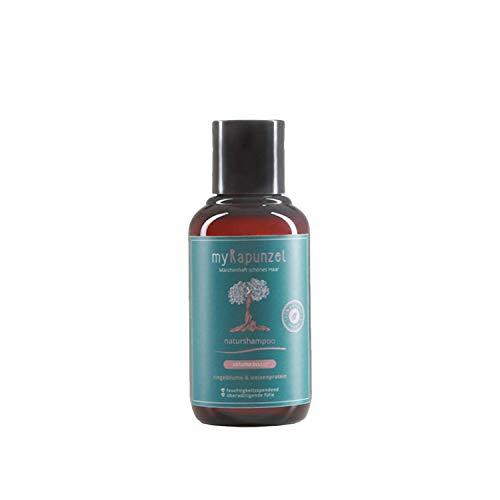 myRapunzel 100ml Volumen-Naturshampoo - 100% natürlich und vegan - ohne Silikone, Parabene, Sulfate & Tierversuche - ohne Chemie - Verleiht mehr Volumen - Made in Austria