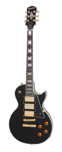 Epiphone ENBBEBGH1 Les Paul Black Beauty 3 Chitarra...