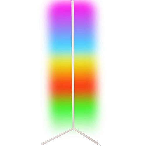 Izzya Leichtes Luxus-High-End Bunte Vertikale Stehlampe Einfache Ecklampe Fülllicht Einstellbar Nordisch Modern Minimalistisch Wohn Wohnzimmer Atmosphäre Stehlampe,Weiß