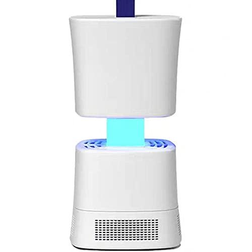 LGHTGR Lampara Mata Mosquitos Electrico,Repelente de Mosquitos enchufable para el hogar, Mute Mosquito-White,Lámpara Anti Mosquitos