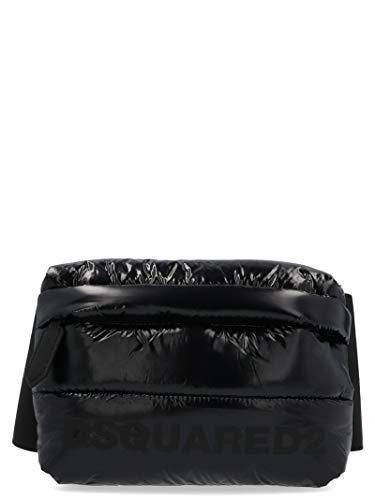 Luxury Fashion | Dsquared2 Heren BBM0010117023802118 Zwart Synthetische Vezels Heuptas | Herfst-winter 19