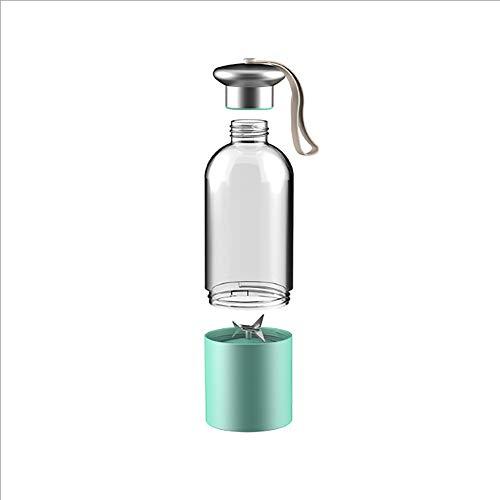 BSJZ 500 Ml Tragbare Elektrische Saftpresse Tasse Mini Entsafter Persönliche Größe mit USB Wiederaufladbare für Home und Im Freien Geschenk für Freundin