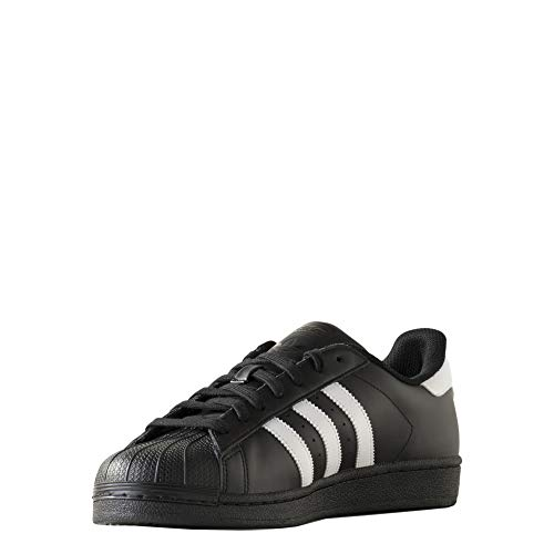 adidas adidas Originals Unisex Superstar Foundation Low-Top, Schwarz (Core Black/FTWR White/core Black), 50 EU