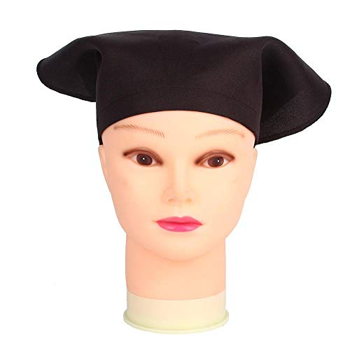 Jeffergarden Kinder Kochmütze Kinder Malen Zeichnen Hut Tragbares Stirnband Backen Kochen Zubehör Kleidung Unisex für Innen(Kaffee)