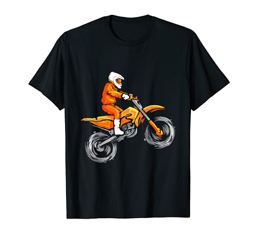 Carreras de motos de motocross para niños - motocross Camiseta