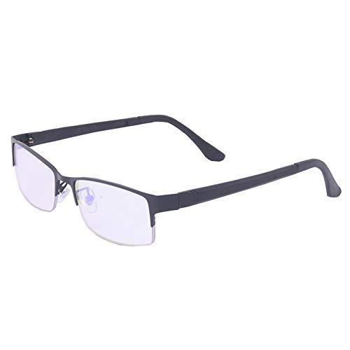ARLT Halbframe rot grüne Farbe blind Sonnenbrille Mode Farbe-Blindheit Gläser Colorblind-Fahrer-Brillen (Lenses Color : Z399 Wood RED)