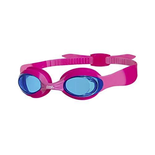 Zoggs Little Twist - Gafas de natación para niños con protección UV y antiniebla, Infantil, color Pink/Tint, tamaño 0 - 6 years